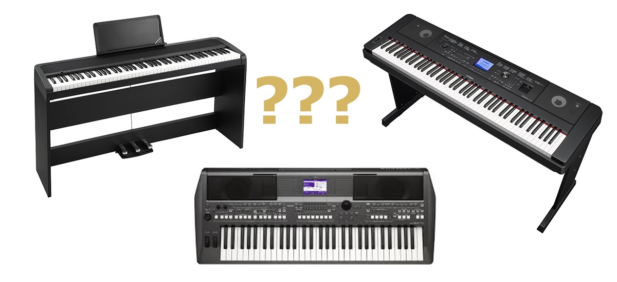how to choose the right digital piano a complete beginner guide. Black Bedroom Furniture Sets. Home Design Ideas